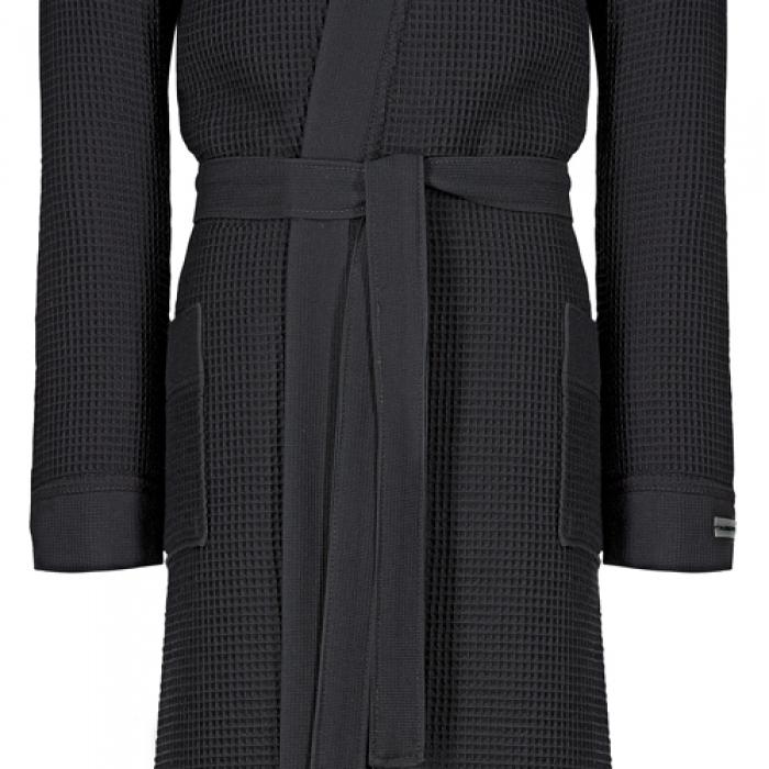 taubert thalasso herren kimono bademantel mit kapuze soft. Black Bedroom Furniture Sets. Home Design Ideas