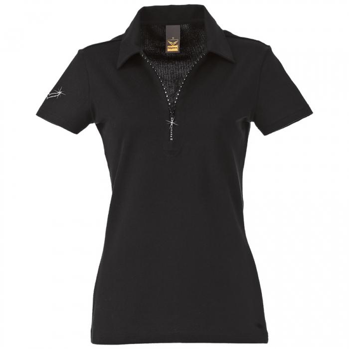polo shirt kurz rmlig mit rei verschluss trigema damen oberbekleidung 26611 1 26611 1. Black Bedroom Furniture Sets. Home Design Ideas