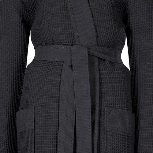 0c317eb1ad0e63 Taubert Thalasso Damen Kimono-Bademantel kurz mit Kapuze Soft Piqué ...