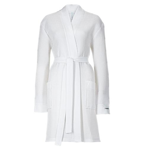 a99388c3566198 Taubert Thalasso Damen Kimono-Bademantel kurz Soft Piqué Länge 100cm ...