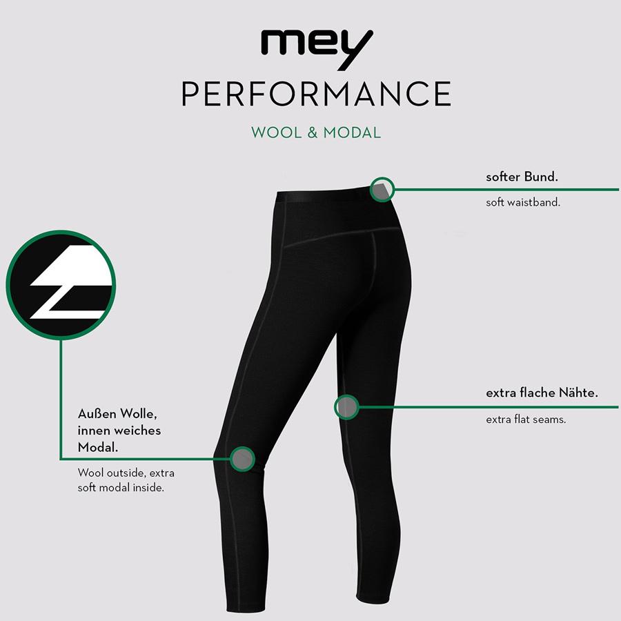 Mey Performance Serie Performance Damen Leggings 68010