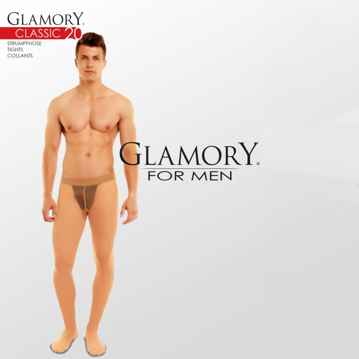 glamory classic herren strumpfhose transparent matt effekt. Black Bedroom Furniture Sets. Home Design Ideas