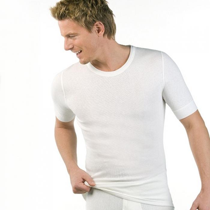 medima classic angora baumwolle herren shirt kurz rmlig. Black Bedroom Furniture Sets. Home Design Ideas